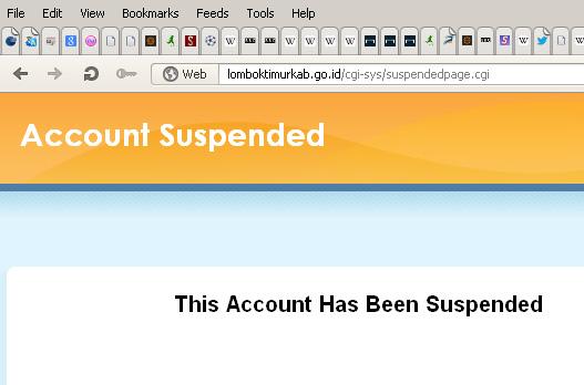 Hasil Administrasi CPNS Lotim, Website Lomboktimurkab Disuspend